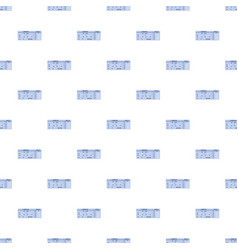 Ticket pattern seamless vector