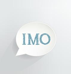 IMO vector image