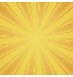 orange and yellow color burst background vector image