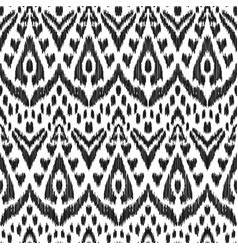 fancy seamless pattern vector image vector image