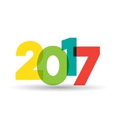 2017 theme vector image