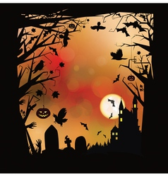 Background halloween vector