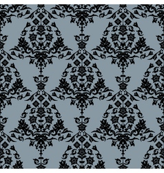 background with seamless pattern vector image