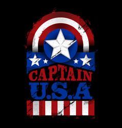 Captain usa - american vector