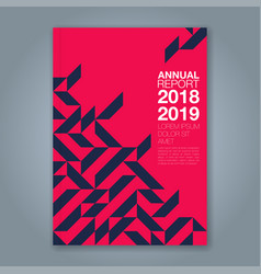 Cover annual report 872 vector