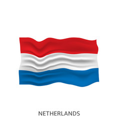 flag netherlands vector image