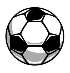 soccer ball 001 vector image