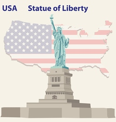 Statue of Liberty vector image