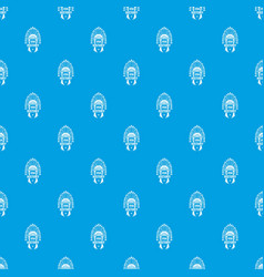 usa history pattern seamless blue vector image