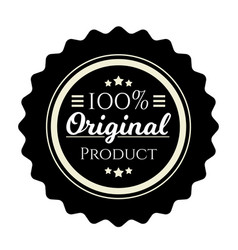 vintage badge premium design element original vector image