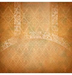 Vintage lace banner vector image