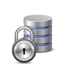 Protected database vector