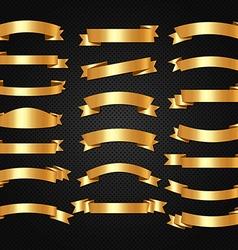 Luxury elegant and royal ribbons design vector