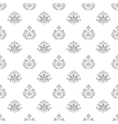Wallpaper in baroque style vector image vector image