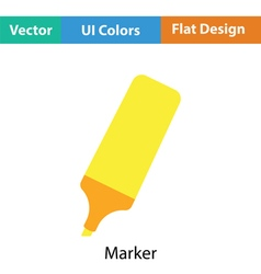 Marker icon vector image