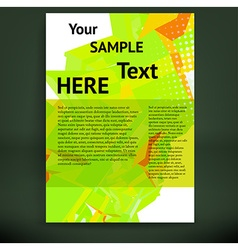 Brochure and flyer template vector
