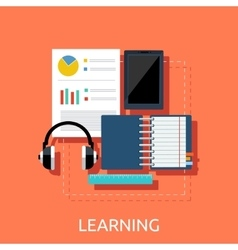 Education Tools Concept vector image