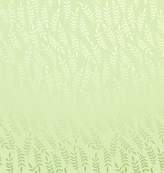 floral background with leafs vector image