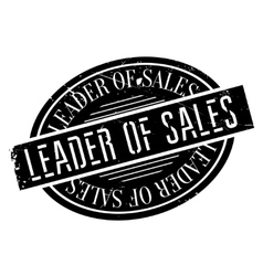 Leader of sales stamp vector