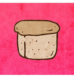 Loaf of Bread Cartoon vector