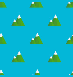 mountain seamless pattern for use as wrapping vector image