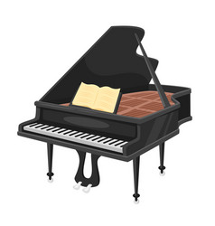 music instrument - pian vector image