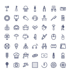 Professional icons vector