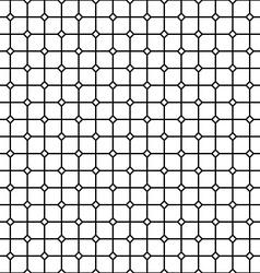 Seamless monochrome rail pattern vector