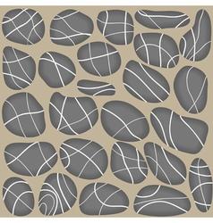 Stones seamless background vector