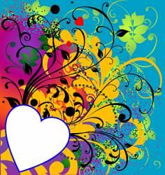 wild heart ii vector image vector image