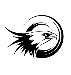 Head Of Eagle vector image vector image