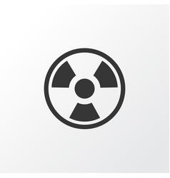 Bio hazard icon symbol premium quality isolated vector