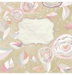 Card with happy birthday on a polka heart EPS 8 vector