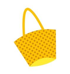 Cartoon fashion handbag vector