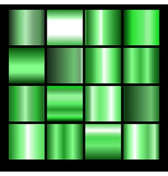 green gradient background vector image