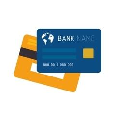 Money card chip vector
