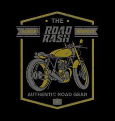 Road rash vector