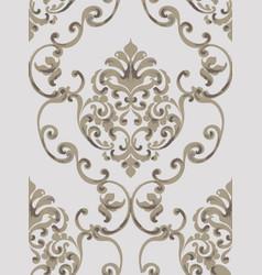Rococo baroque texture pattern floral vector