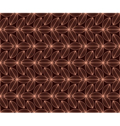 seamless pattern with coffee motive vector image