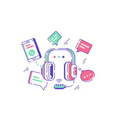 Telephone technical support vector