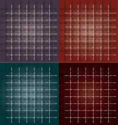 checked pattern vector image vector image