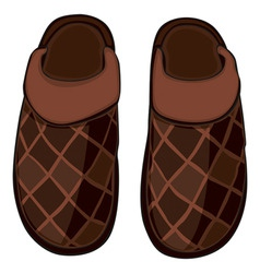 home slippers vector image vector image