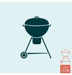 Barbecue icon isolated vector image