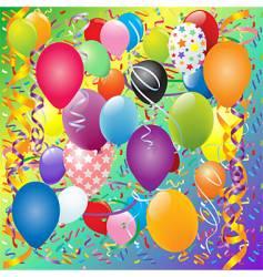 graduation celebration vector image vector image