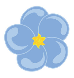 A forget me not flower or color vector