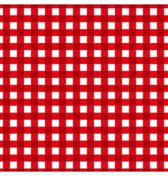 Checkered pattern Retro tablecloth texture vector