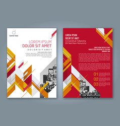 Cover annual report 481 vector