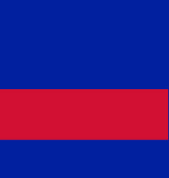 flag of haiti in national colors vector image