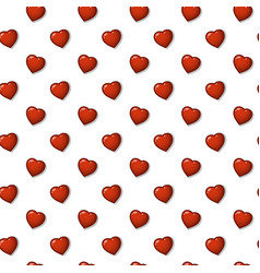 Nice background pattern of hearts vector