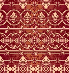 seamless classik pattern vector image